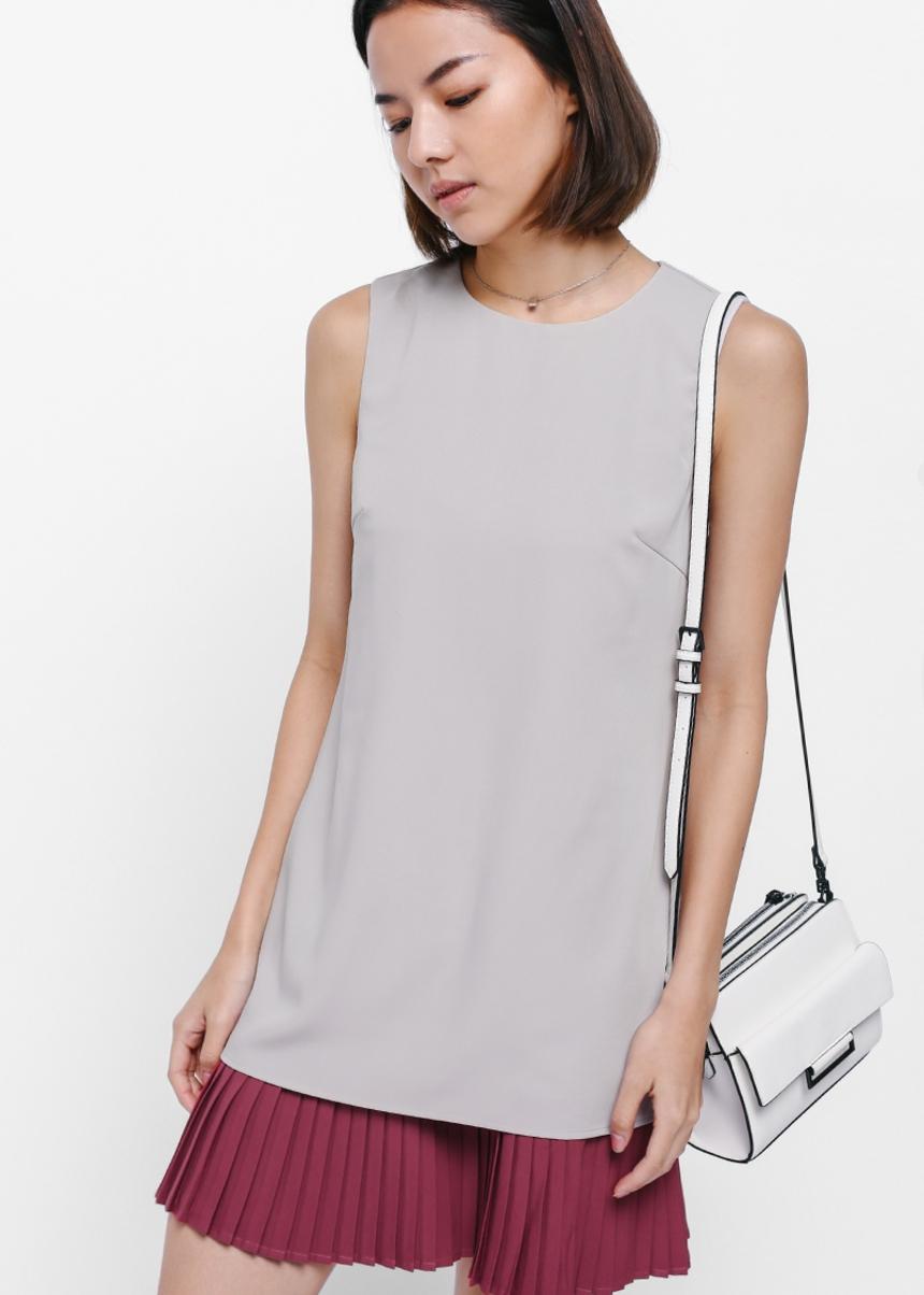 Delancey Pleat Underlay Dress