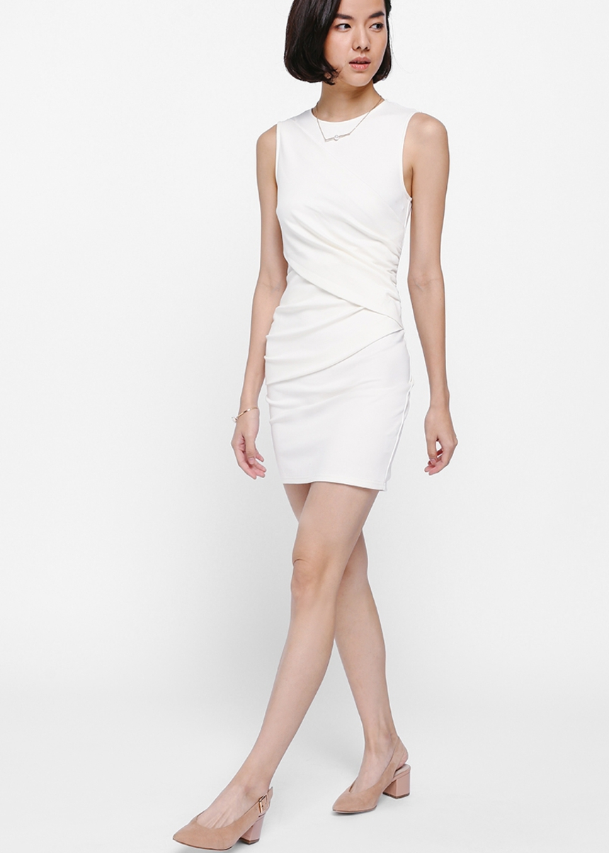 Ricatia Ruched Mini Dress