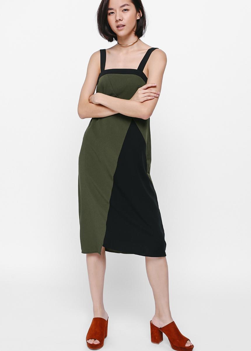 Maeline Colour Block Dress