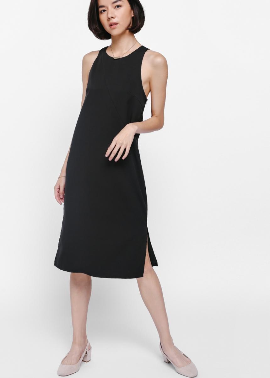 Reiah Tie Back Midi Dress