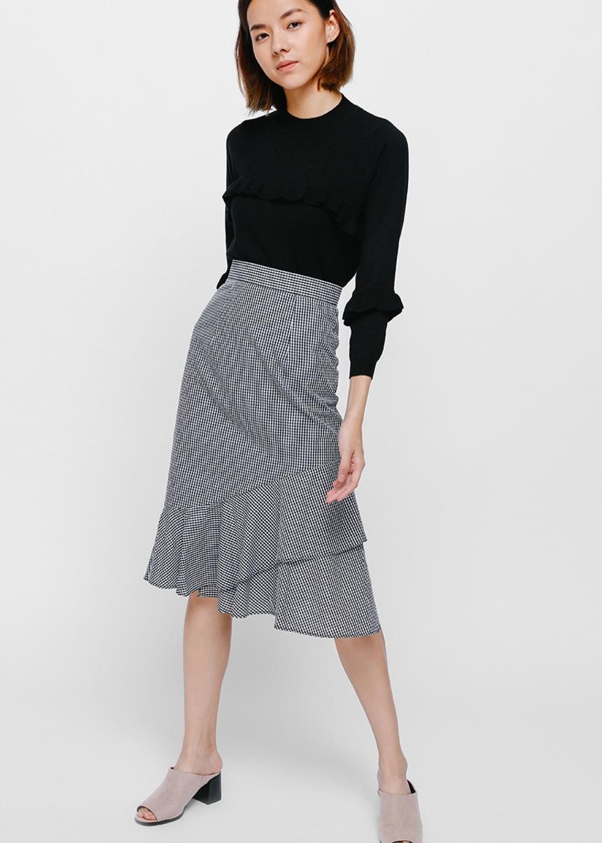 Sivia Ruffle Sweater