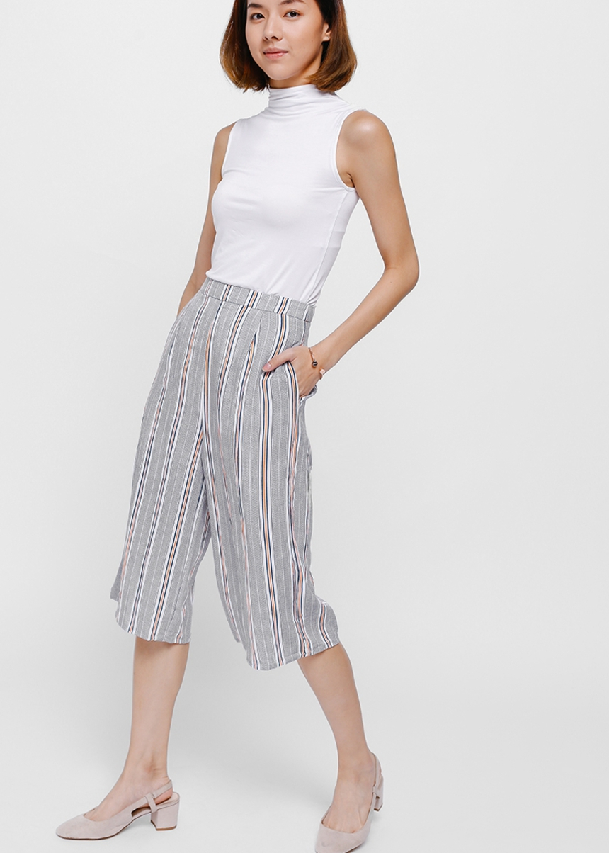 Isabis Striped Culottes