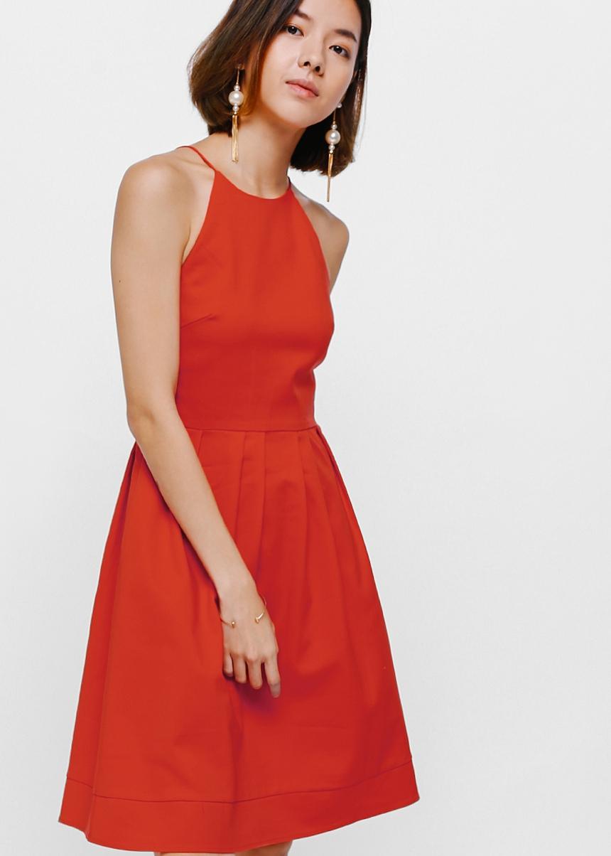 Loralay Pleat Dress
