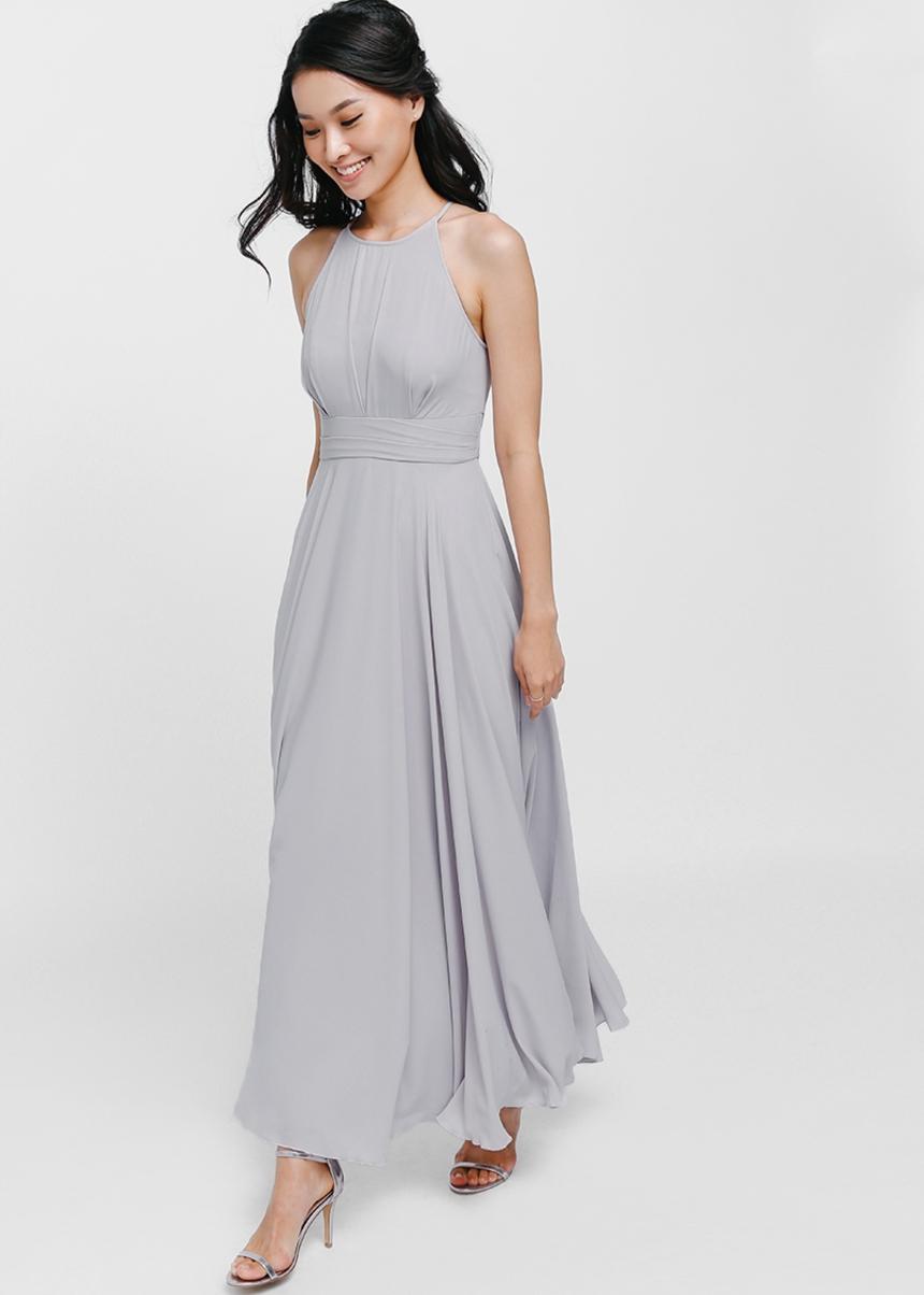 Bautrice Mesh Maxi Dress