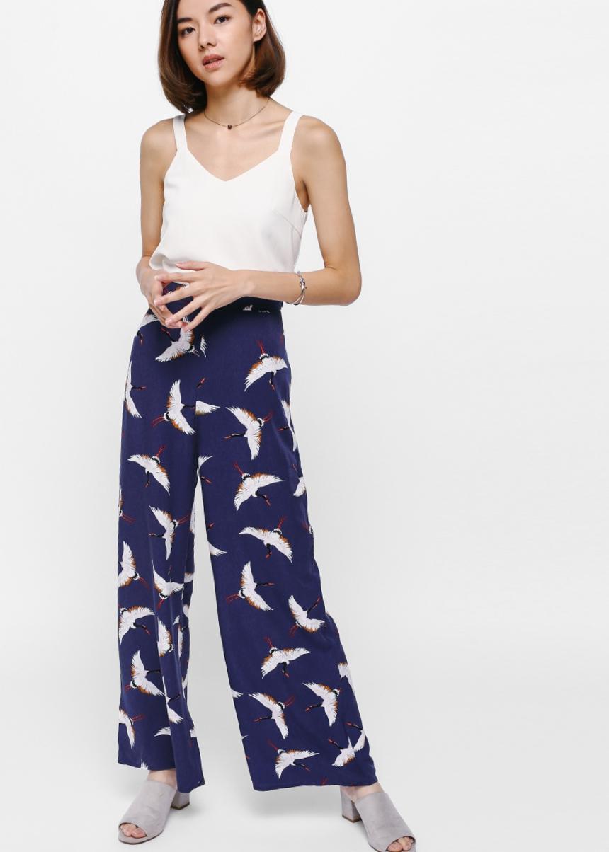 Jennya Printed Wide Leg Pants