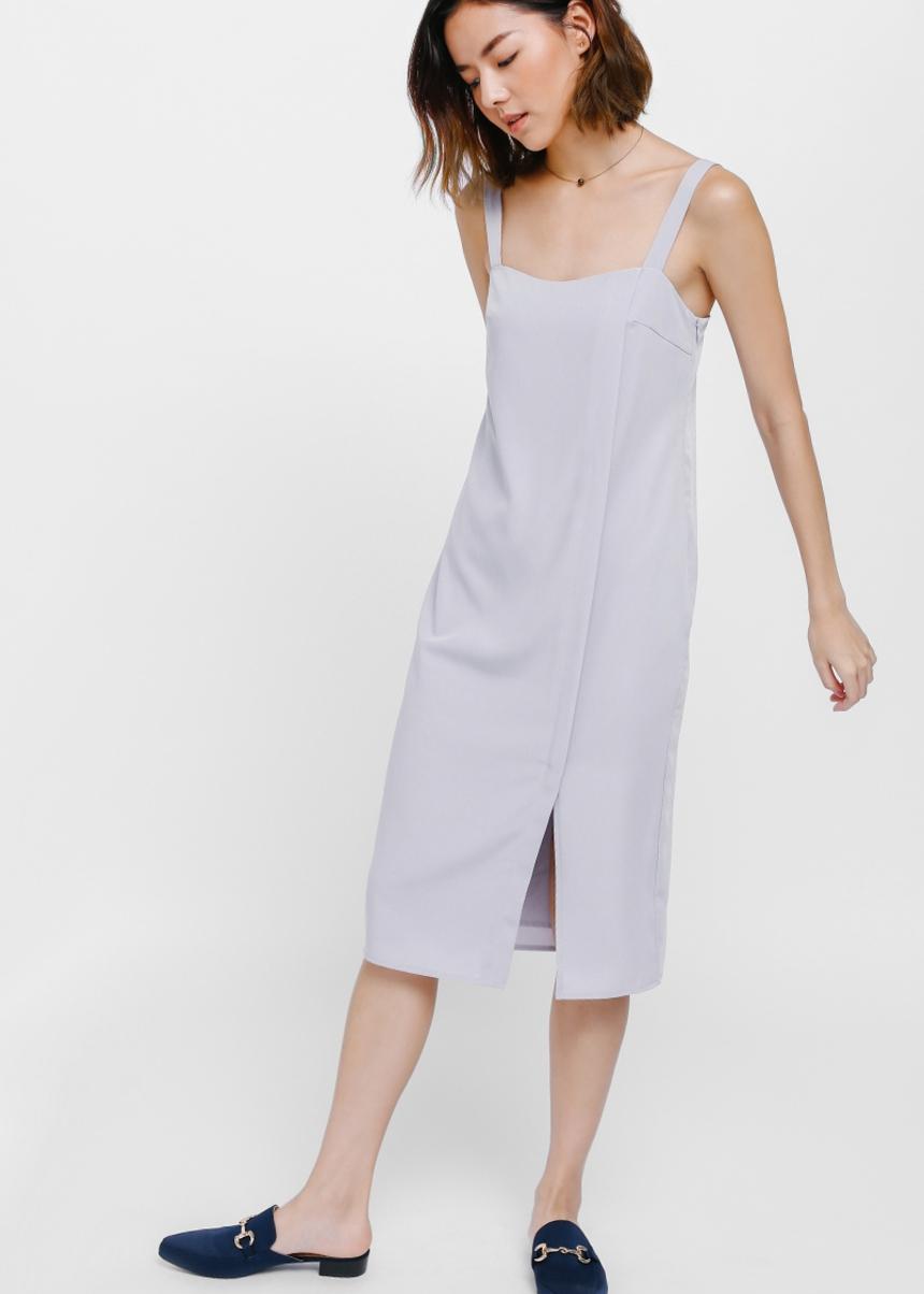 Dordel Slit Midi Dress
