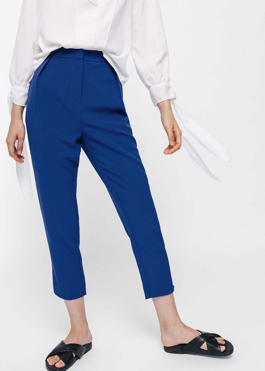 Pashenka High Waist Cropped Pants
