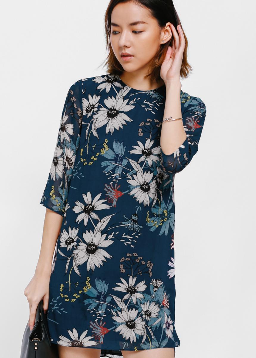 Diova Floral Shift Dress
