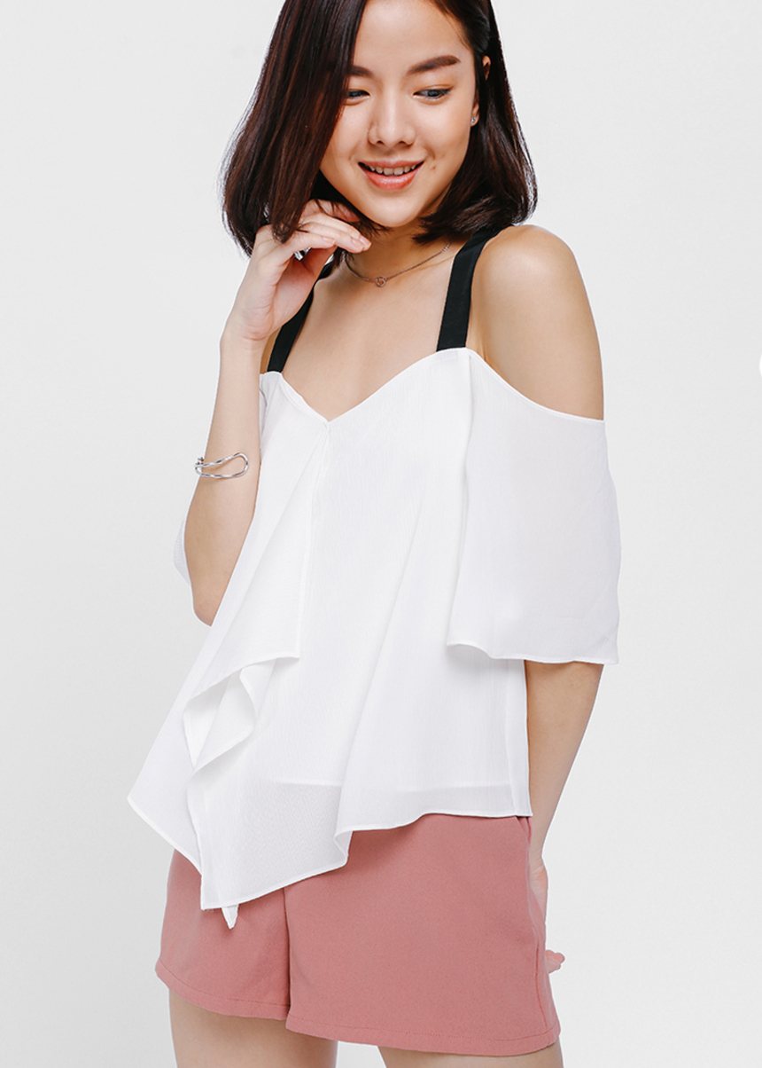 Alcyia Contrast Swing Top
