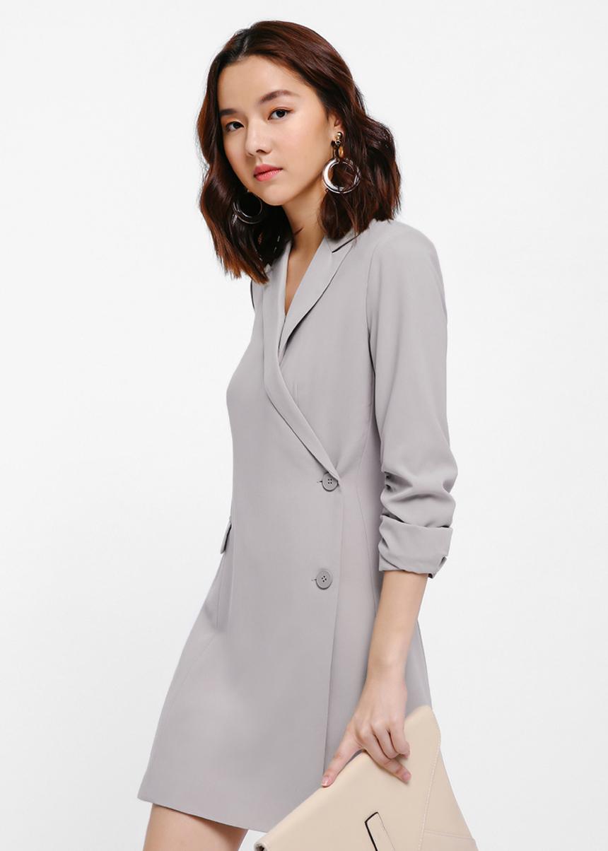 Levita Tuxedo Dress