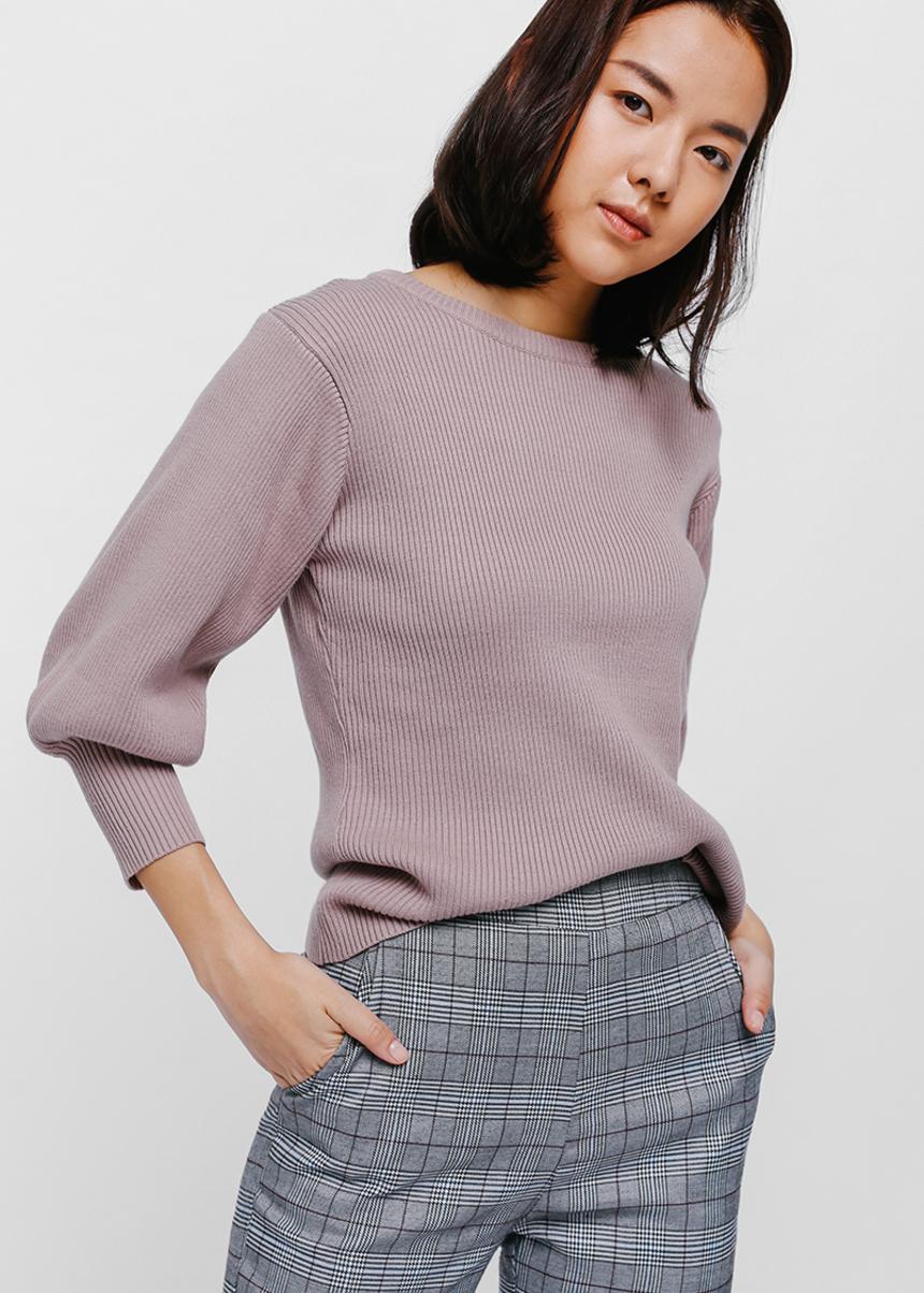 b2cf64e507881f Buy Shamiya Balloon Sleeve Sweater @ Love, Bonito Singapore | Shop ...