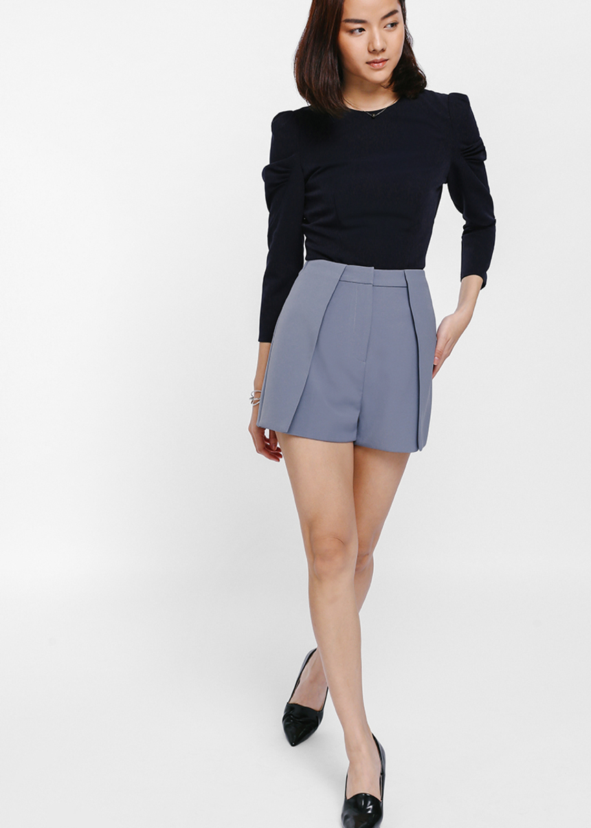 Kylinn Layered Foldover Shorts