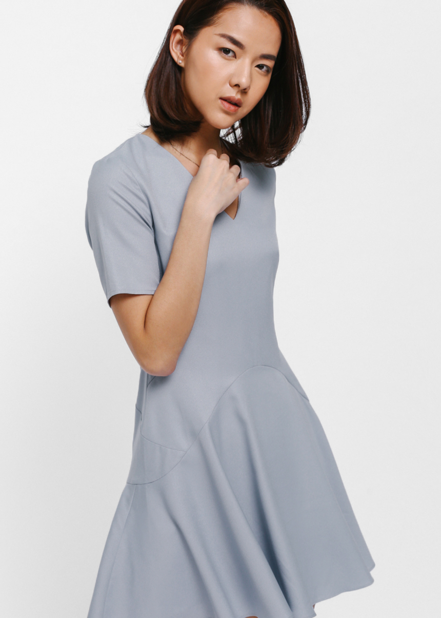 Basicca Flounce Dress