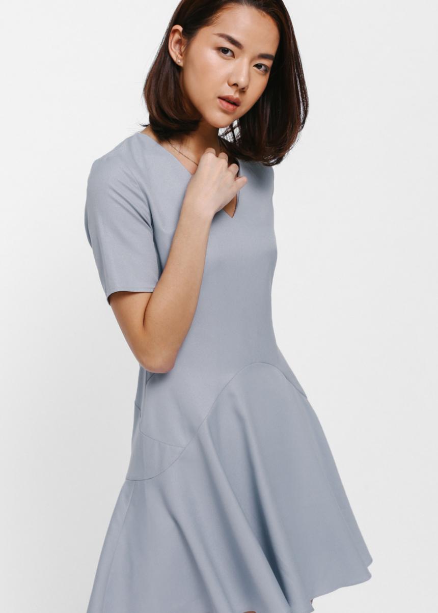 Basicca Flounce Dress