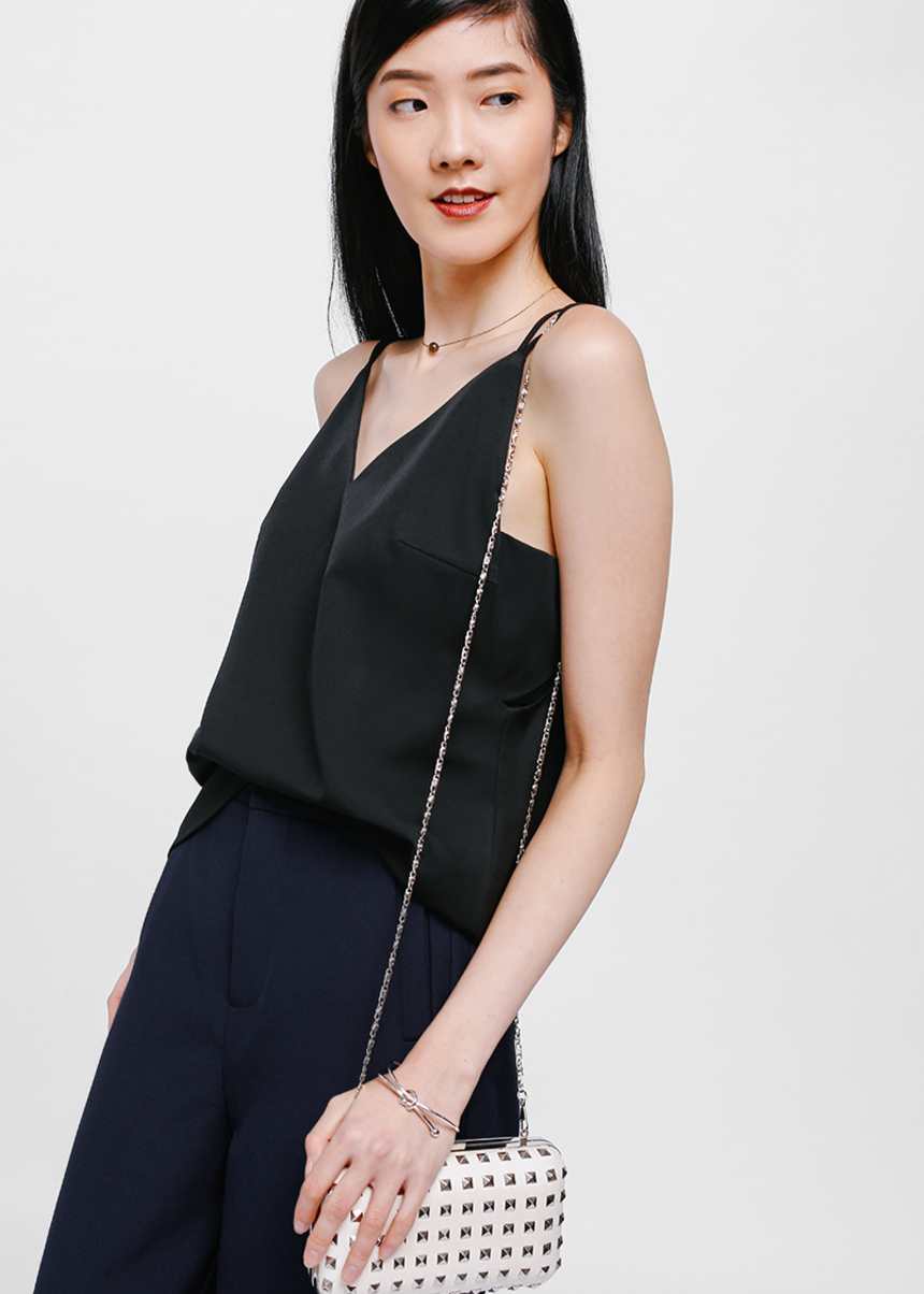 Helege Layered Cut Out Top