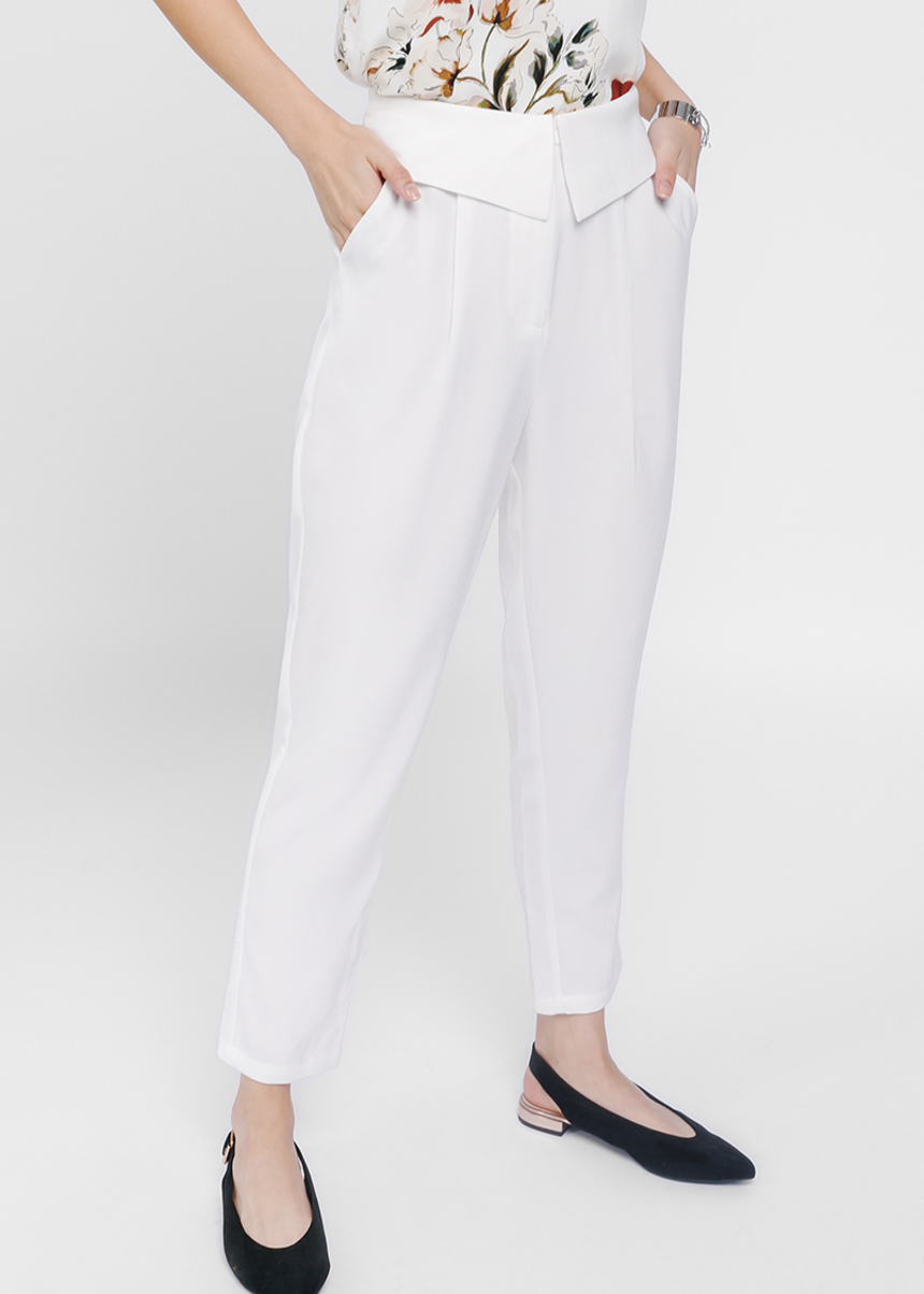Pravene Origami High Waist Pants