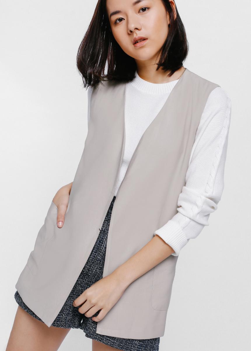 Viesha Soft Belted Vest