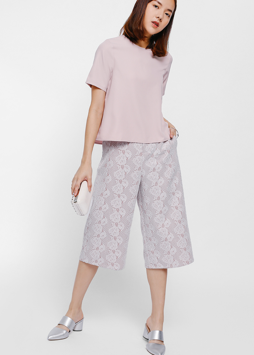 Syerral Lace Culottes