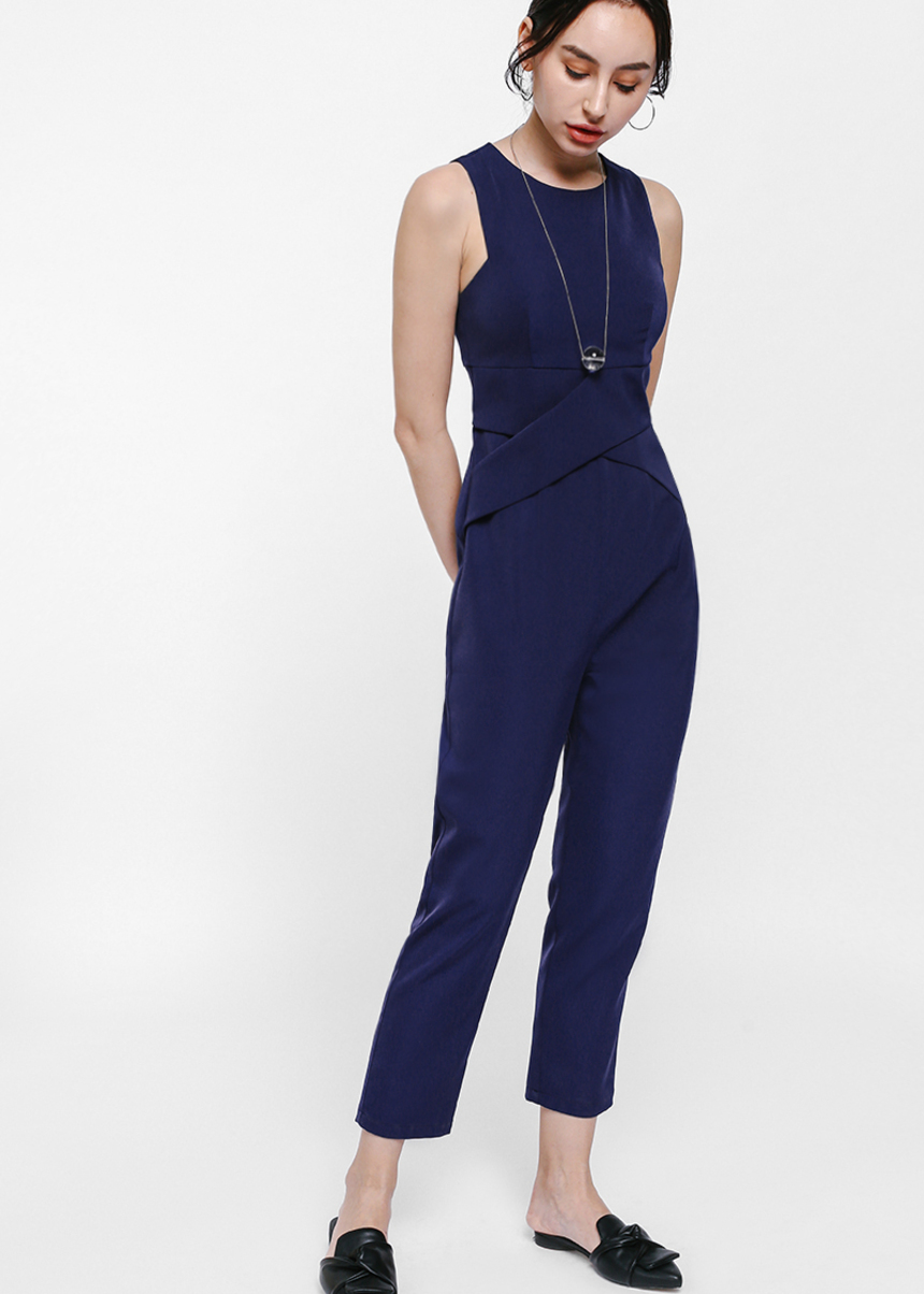 Feo Cross Front Jumpsuit