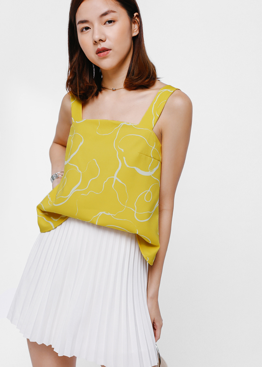 Deshley Printed Top