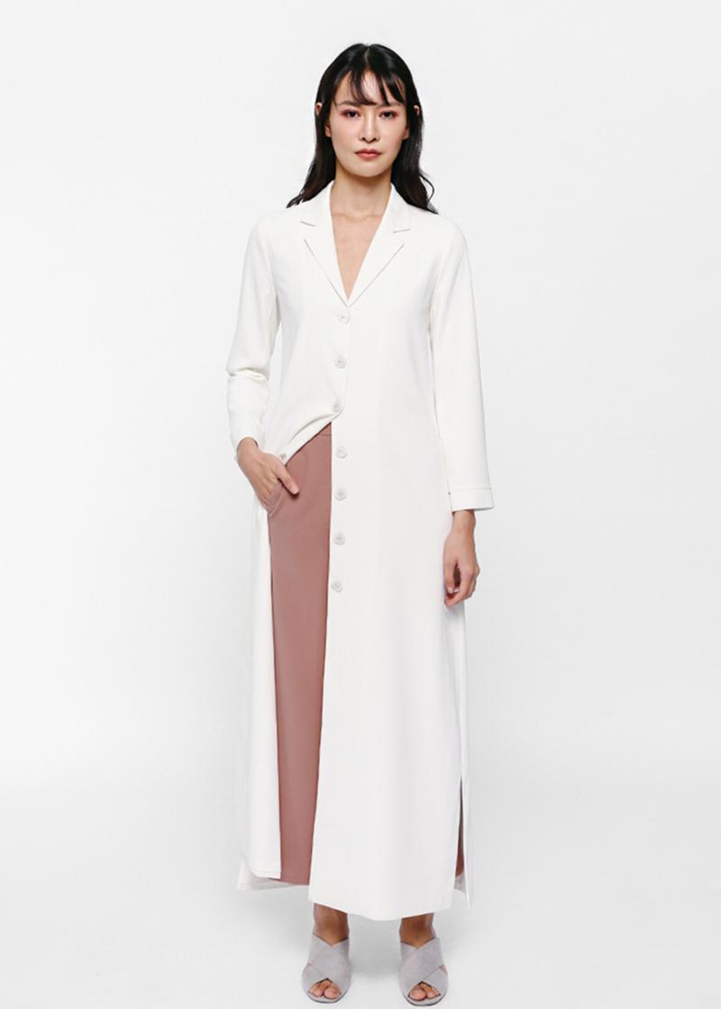 Evany Longline Coat Dress