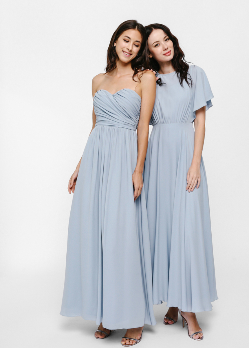 search for clearance moderate cost modern design Bavryn Bustier Maxi Dress