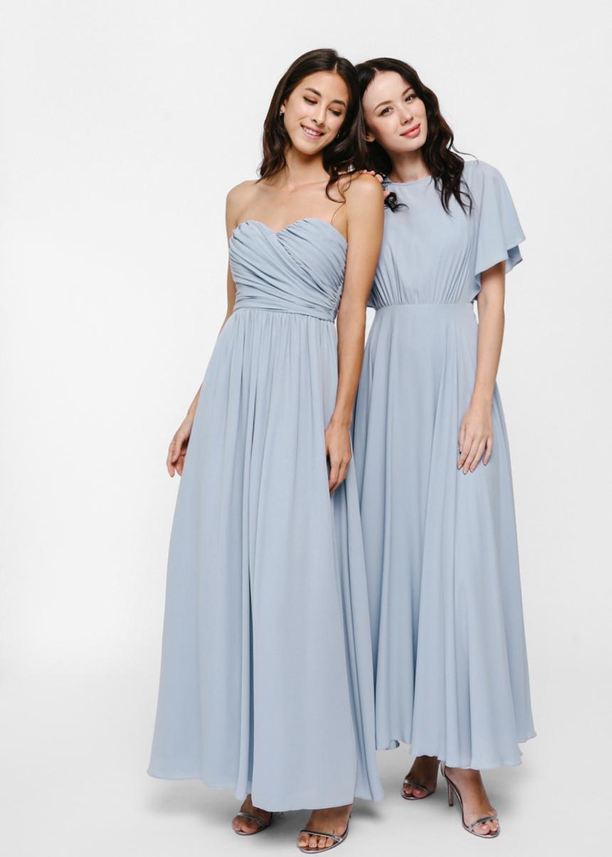 Bavryn Bustier Maxi Dress
