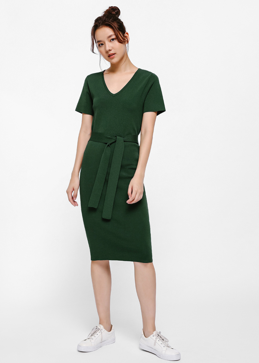 Kyran Knit Column Dress