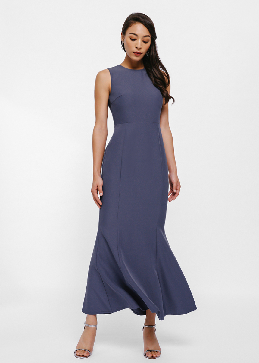 Bardot Fishtail Maxi Dress