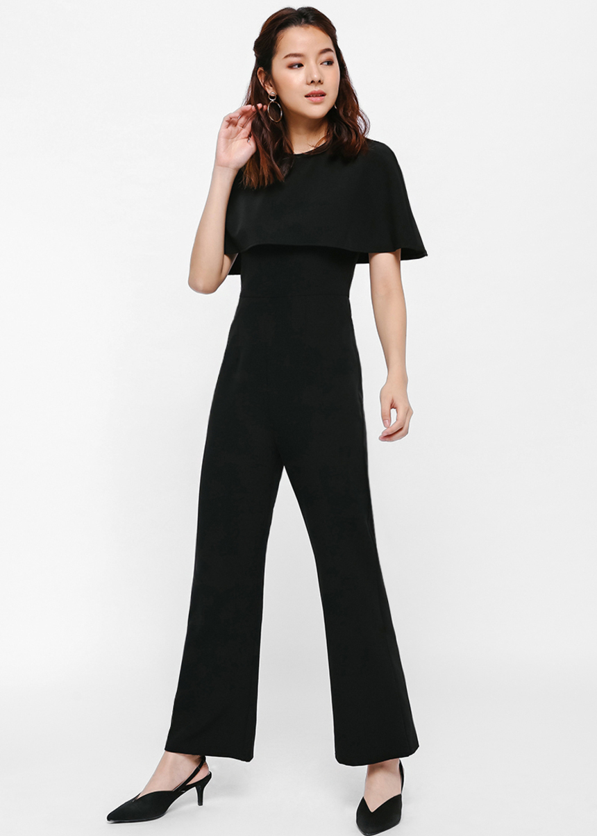 Jan Cape Jumpsuit