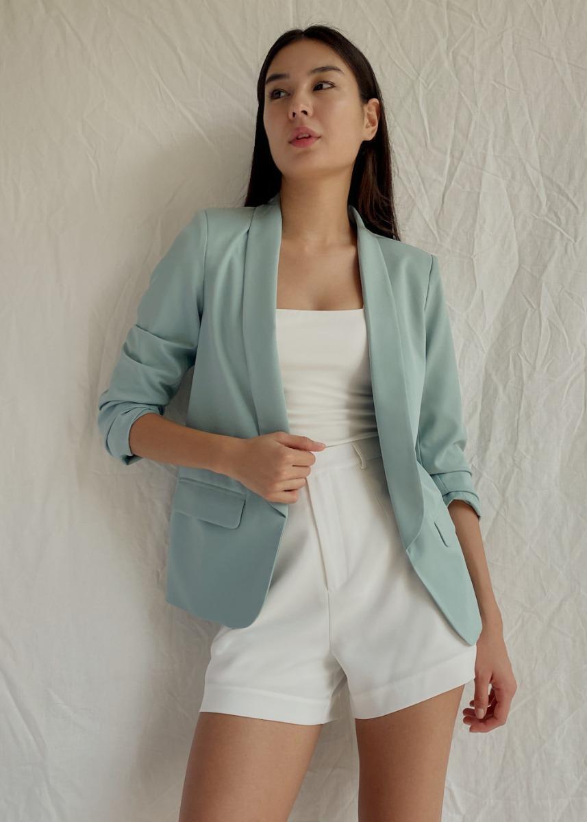 Meisel Shawl Collar Blazer