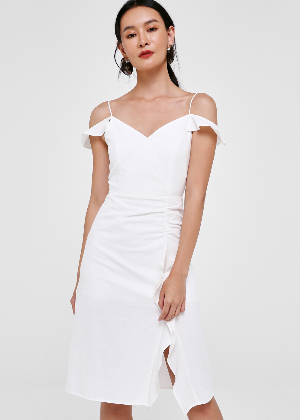 Flueta Off-shoulder Sleeve Dress