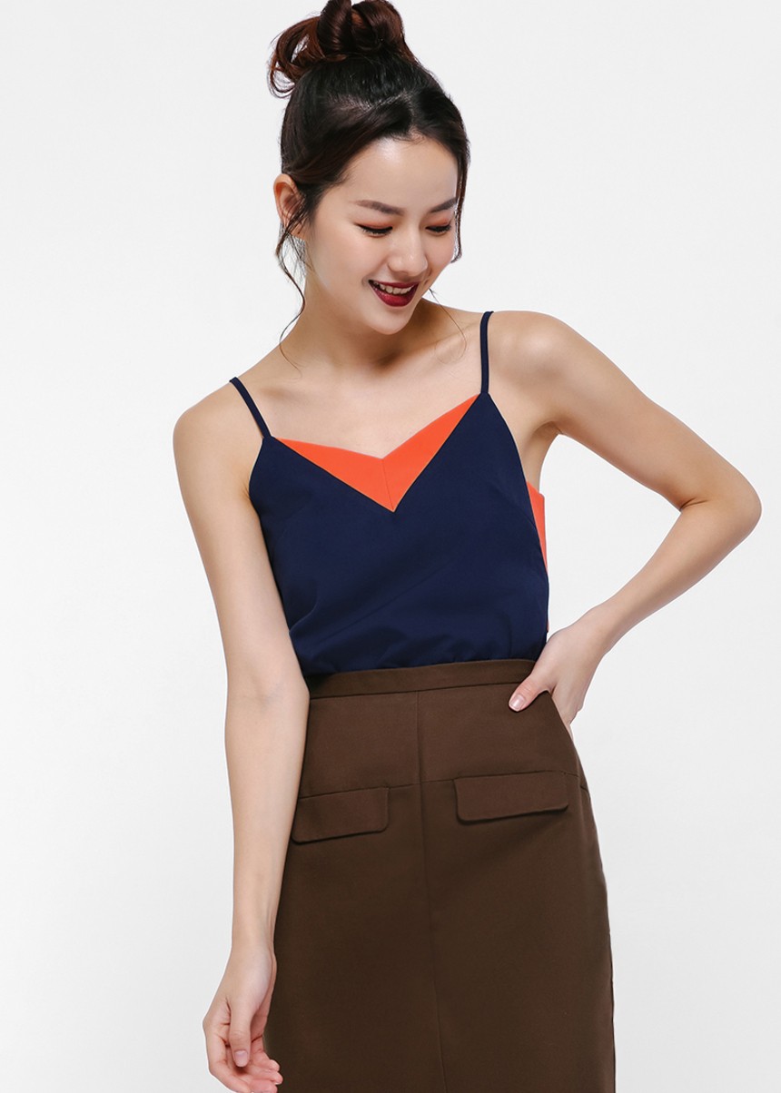 Lalice Colourblock Camisole