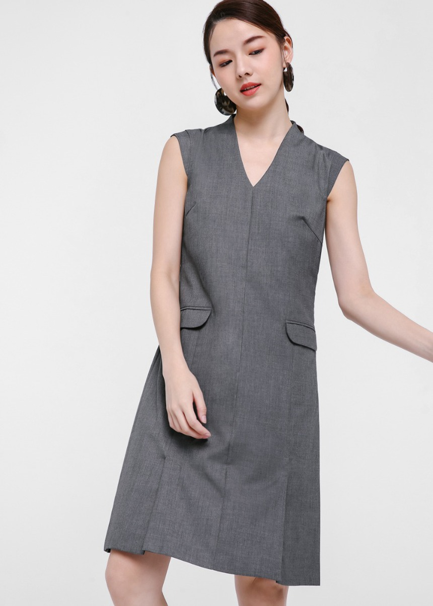 Edwina Pocket Front Shift Dress
