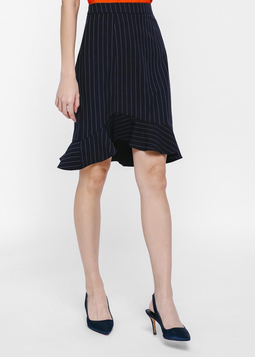 Otheli Pinstripe Skirt