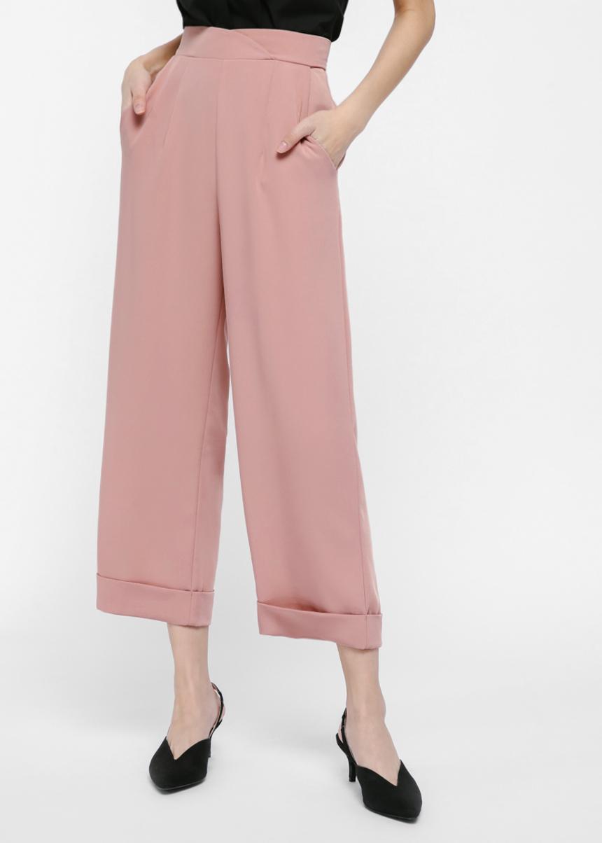 Oaklyn High-Waist Flare Pants