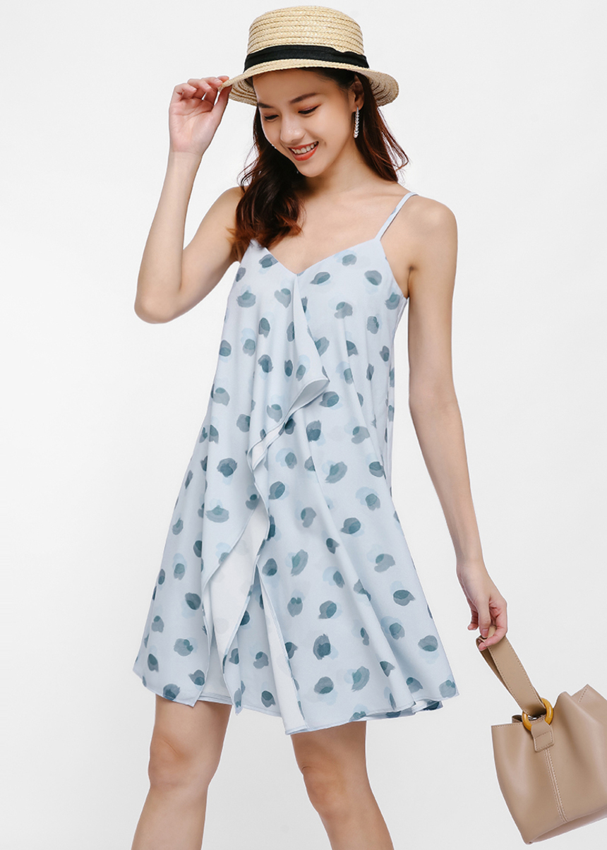 Rufis Printed Camisole Dress