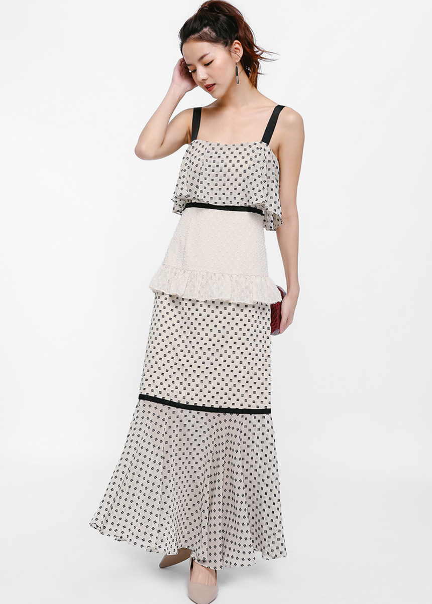 Aurora Layered Ruffle Dress