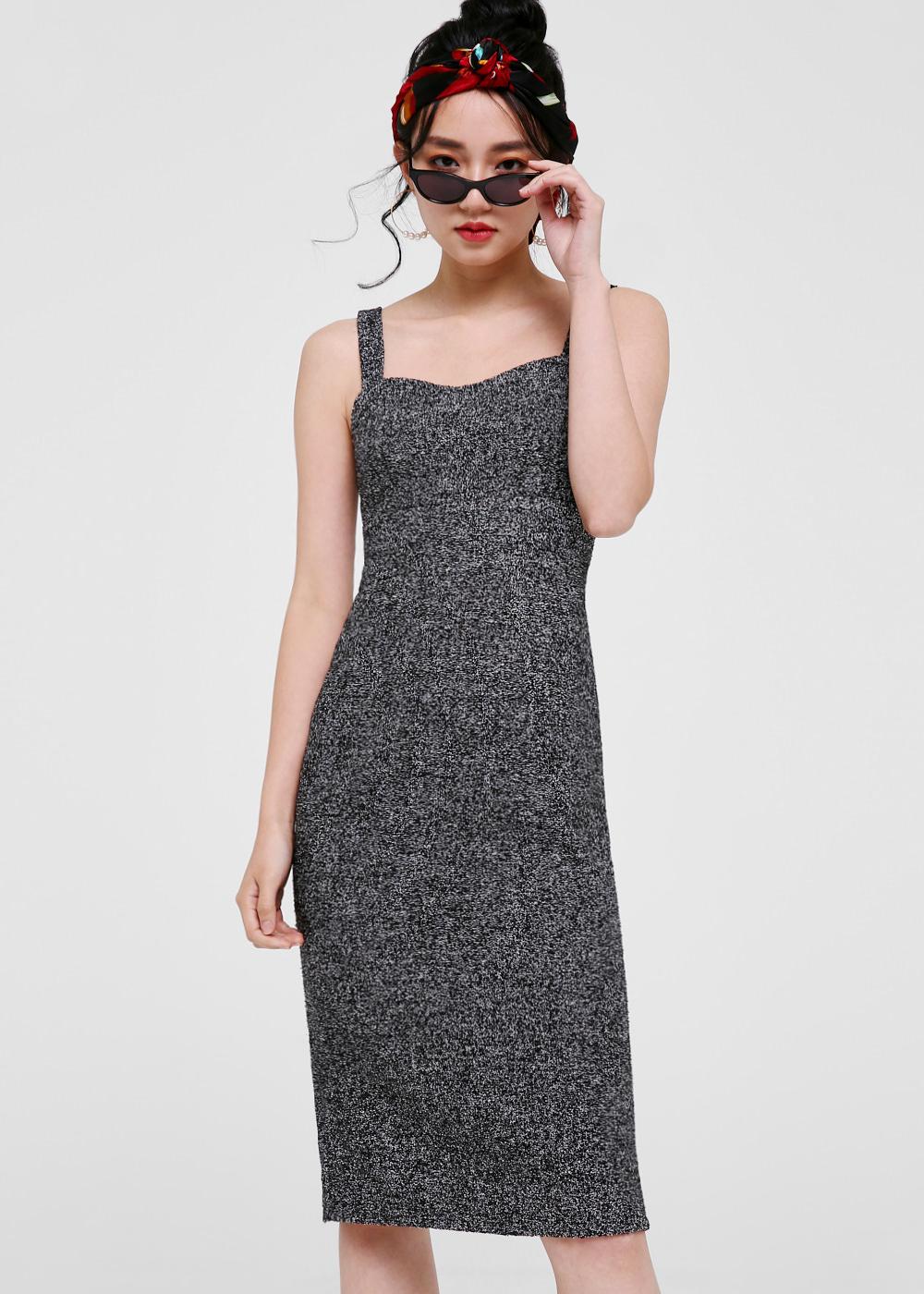 Donna Tweed Pencil Dress