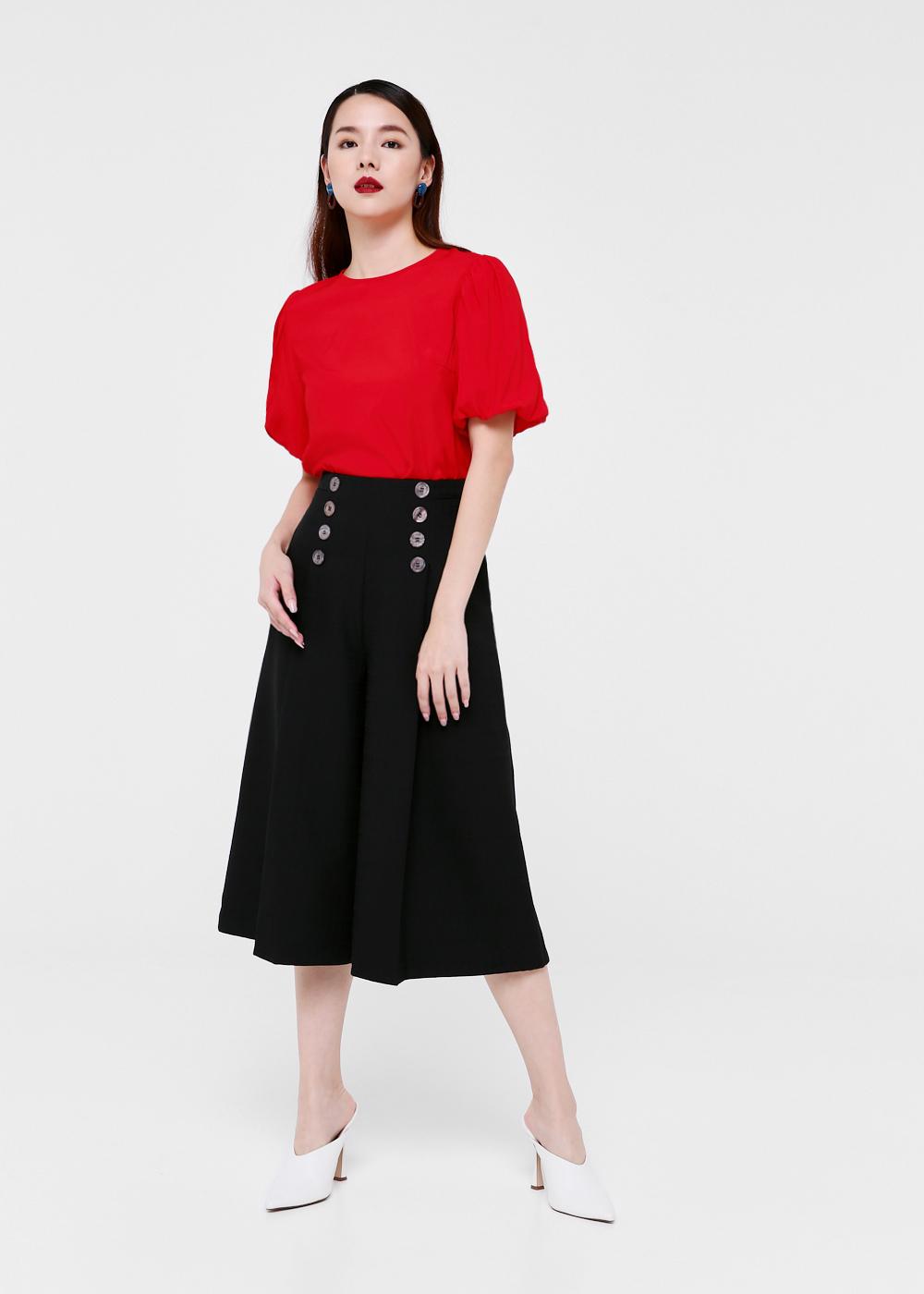 Florette Button Front Culottes