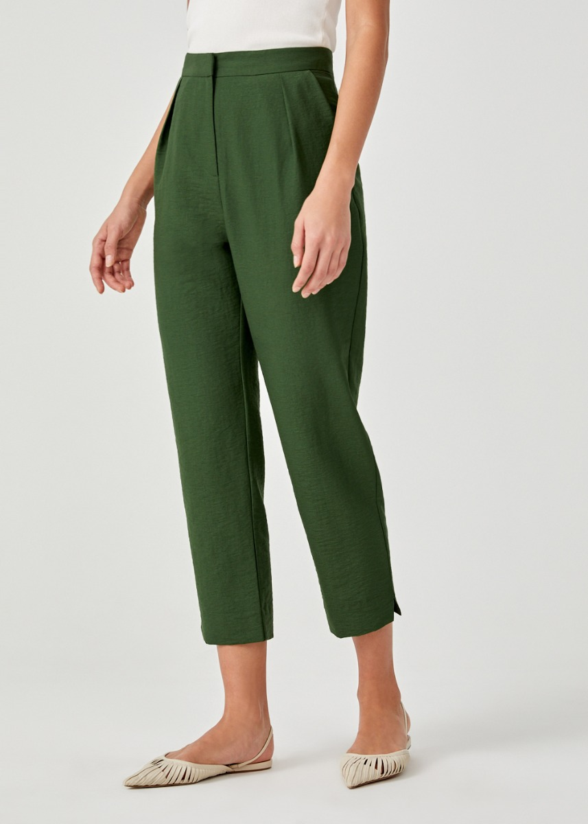 Jordyn Cropped Peg Leg Pants