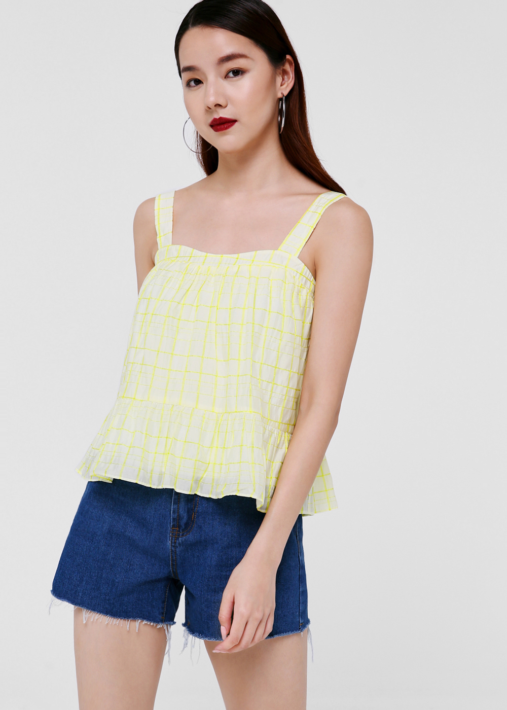 Sonia Textured Baby Doll Top