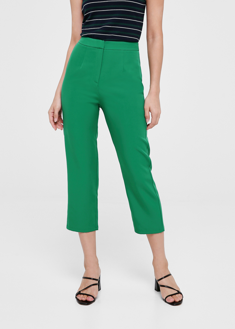 Vida Slim Fit Crop Pants