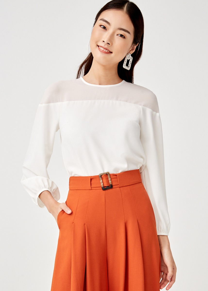 Vega Puff Sleeve Top