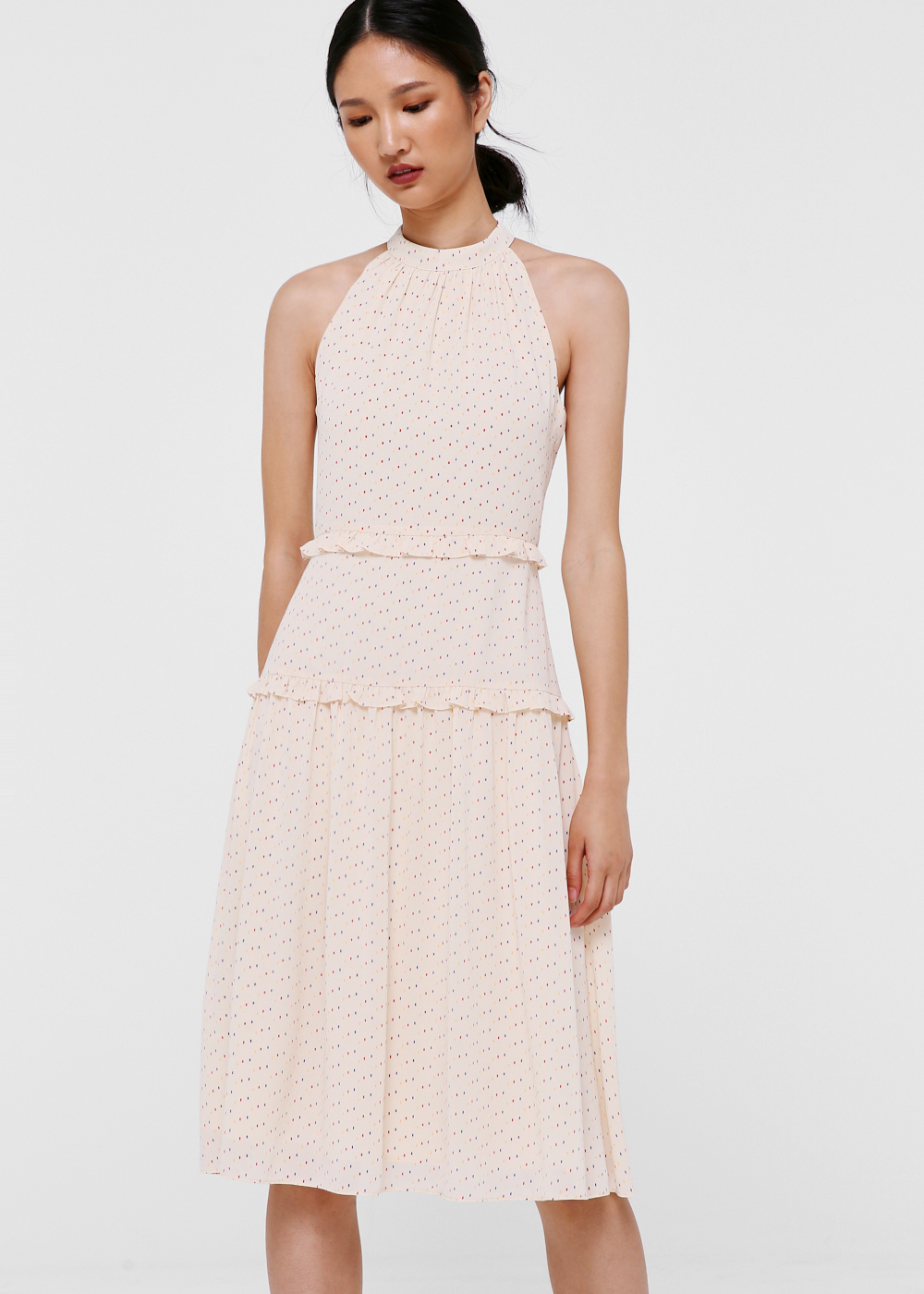 Finley Ruffle Tiered Midi Dress
