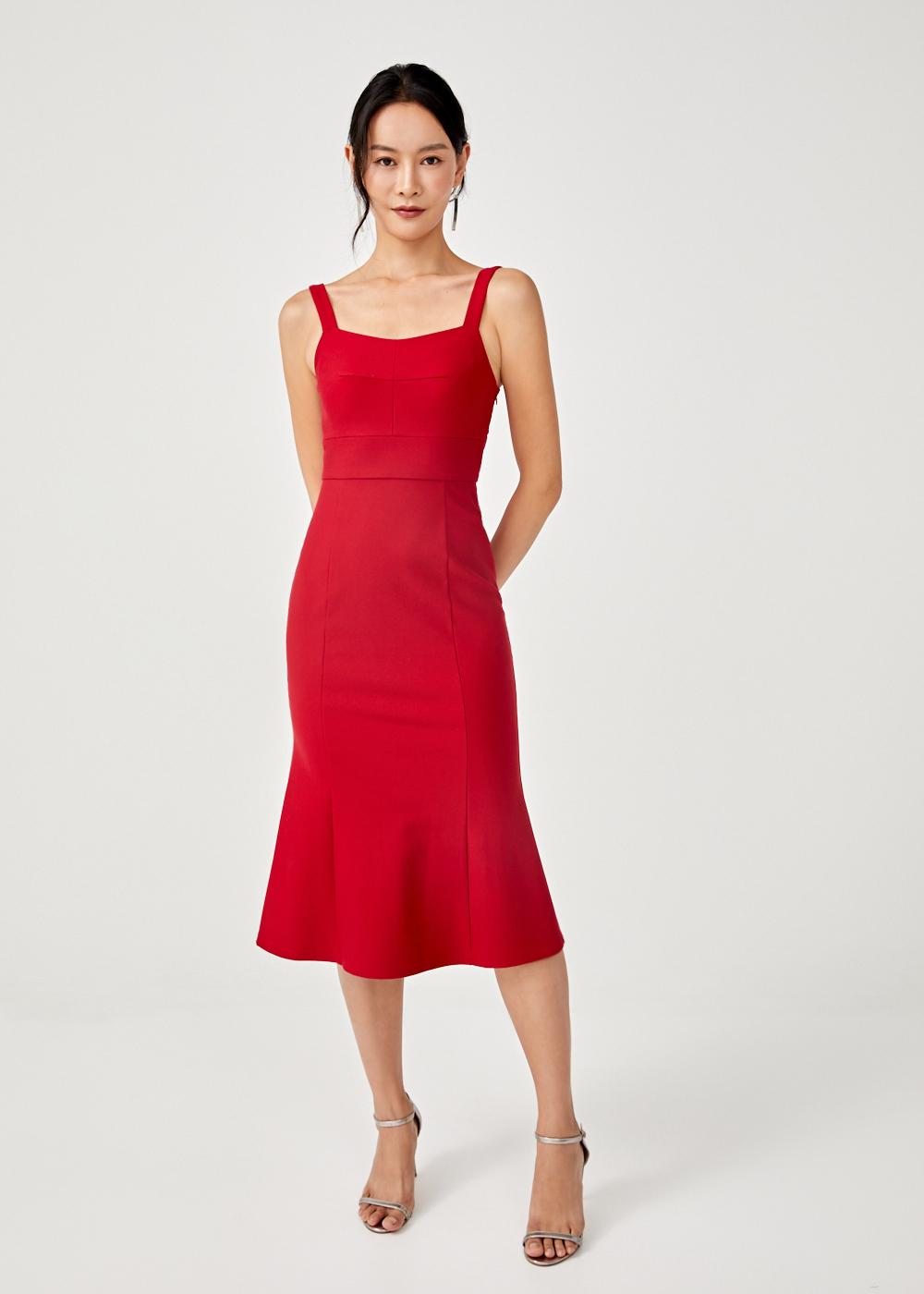 Judith Midi Bodycon Dress