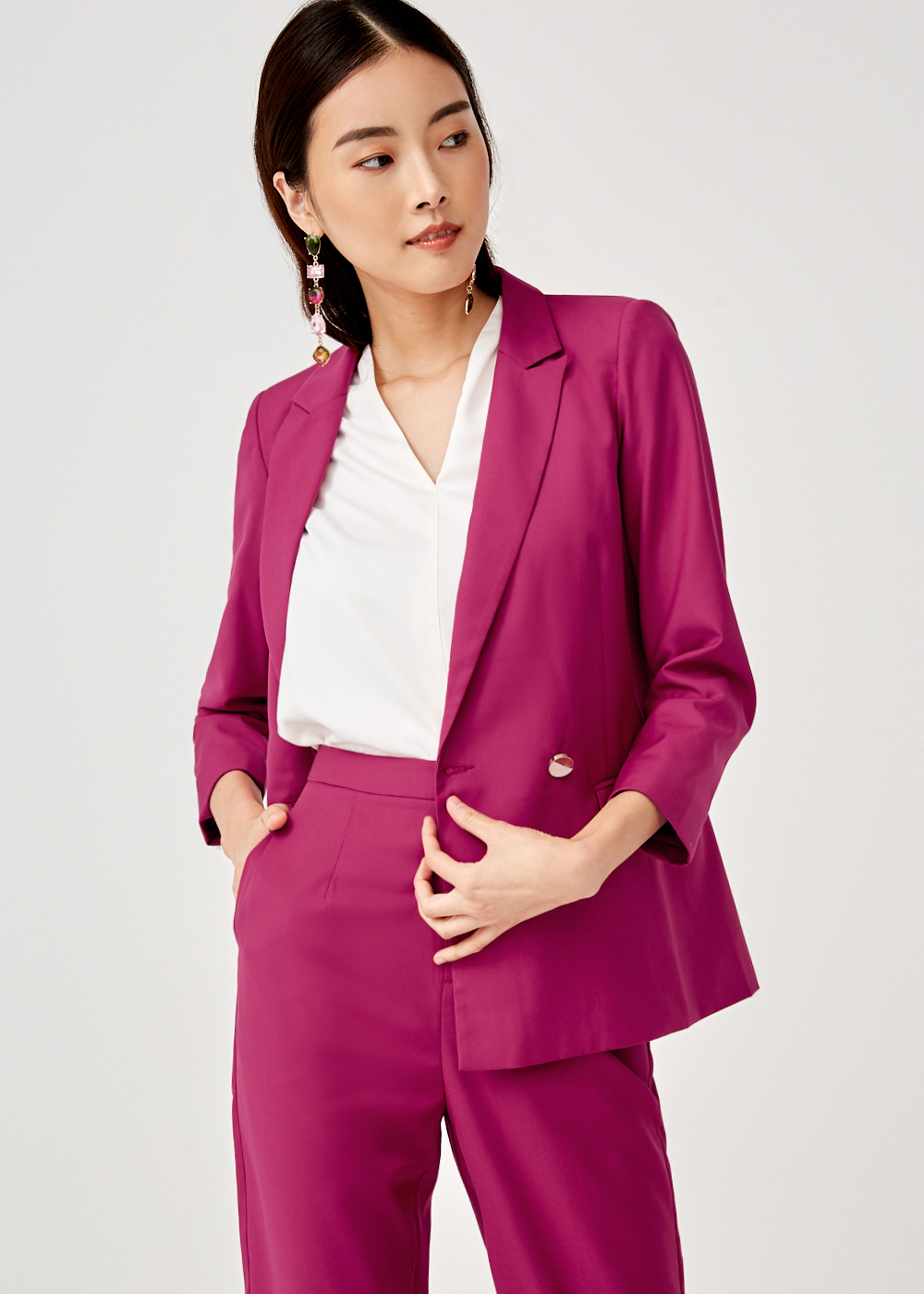 Queena Double Breasted Blazer