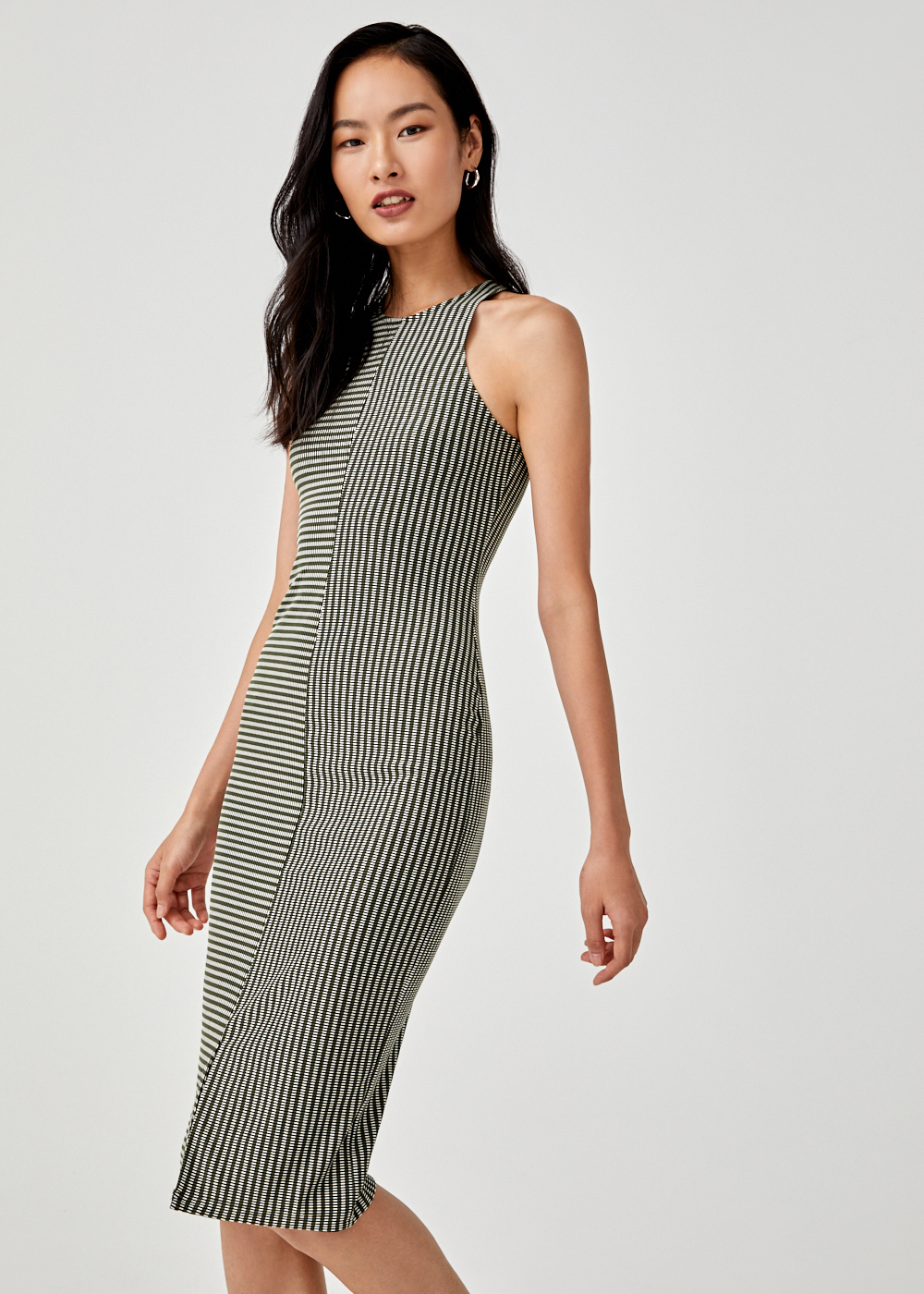 Suzetta Bodycon Midi Dress