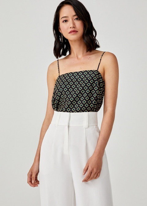 Diana Square Neck Camisole in Moroccan Reverie