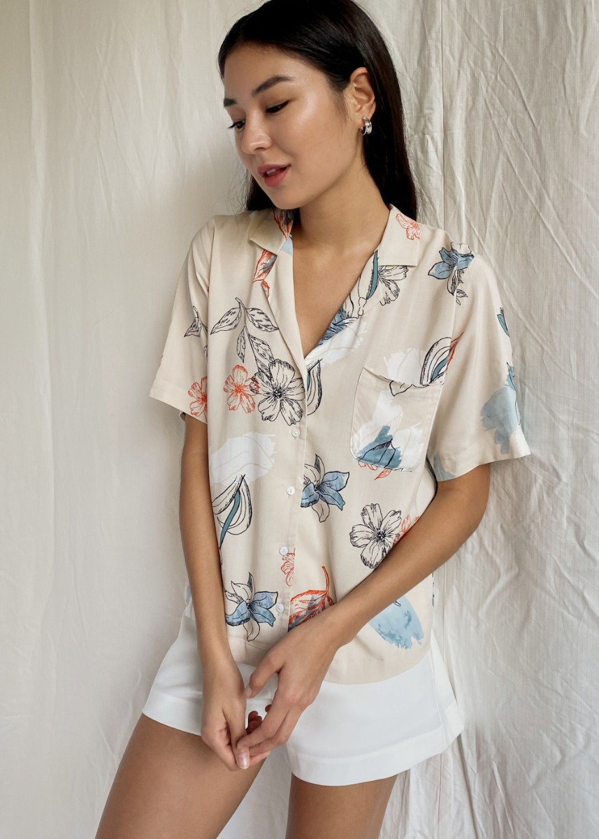 Haydee Shirt in Chamomile Dream